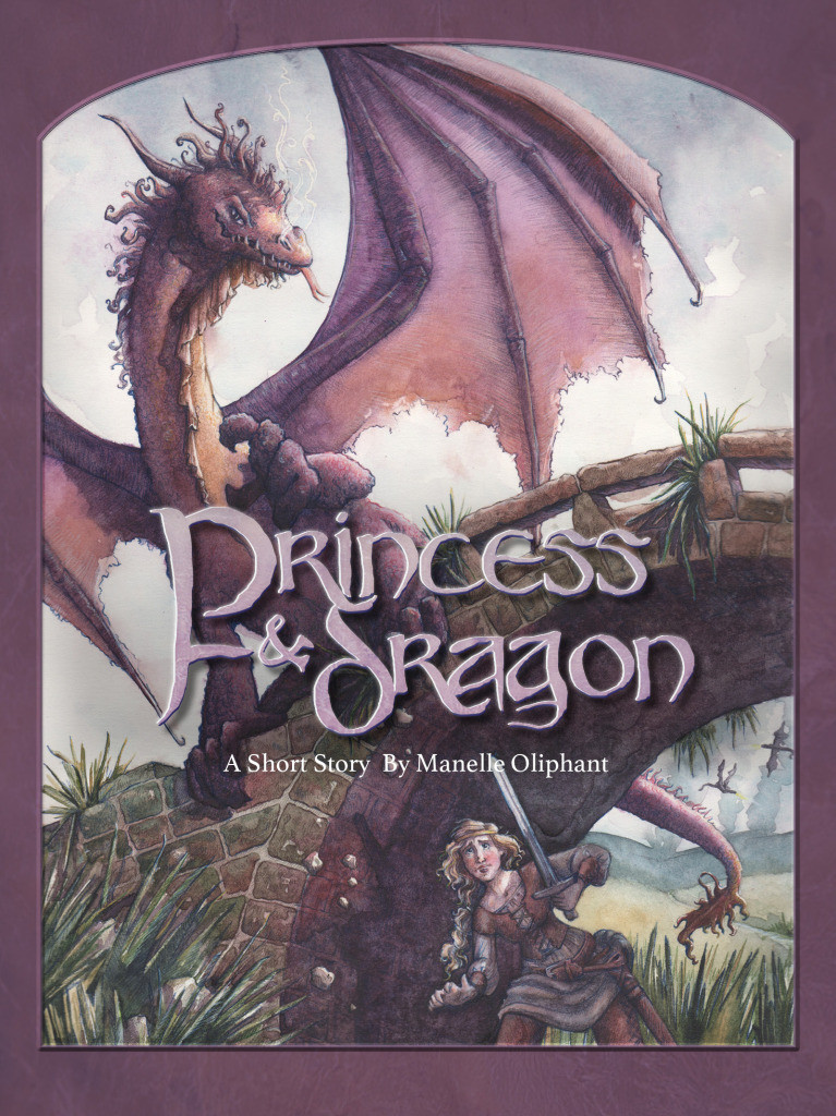 Short fantasy story about a princess who kills a dragon. A fun read for readers who love fantasy and don't have a lot of time.  #dragons #princess #medieval