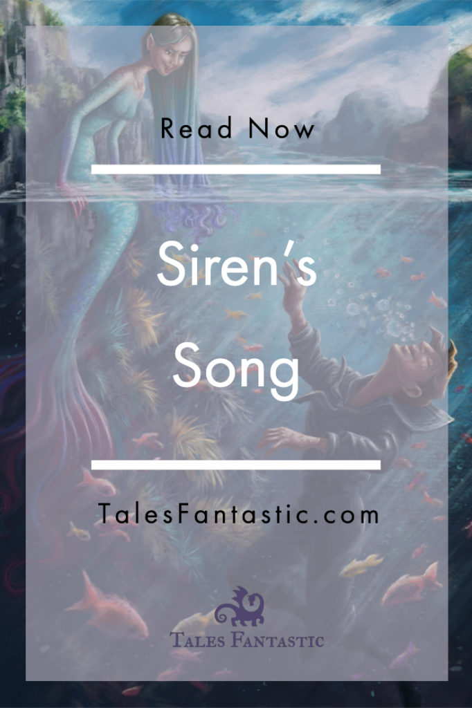 A sailor is on his way home to his wife and child, but has an encounter with a siren. #siren #mermaid #illustratiion #fantasy